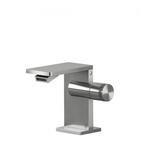 Bidet Mono Mixer - Brushed Steel