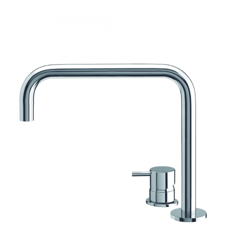 Basin 2 hole deck mixer