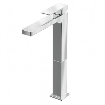 Basin Tall Mono Mixer - Chrome