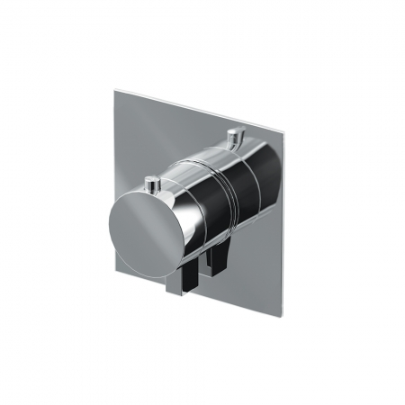 Thermo valve 1 outlet - Chrome