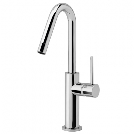 Basin mono mixer - side lever