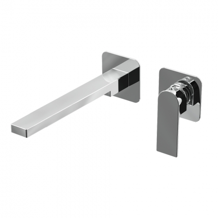 Basin wall mixer