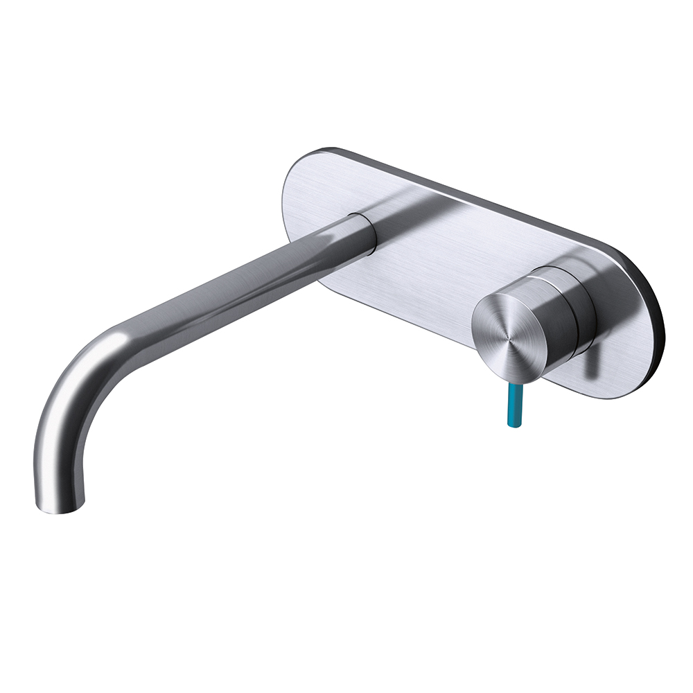 Basin 2 hole wall mixer