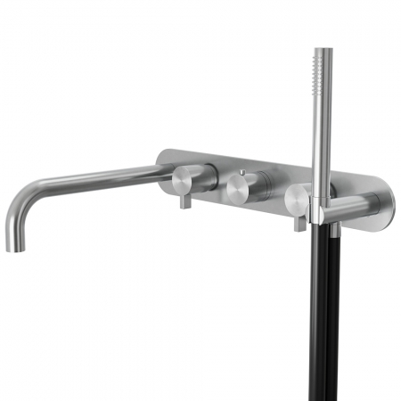 Grand Porta Bath 5 hole thermo wall mixer