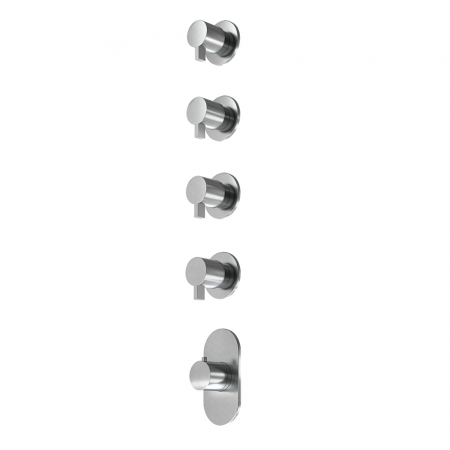 Thermo valve 4 outlet