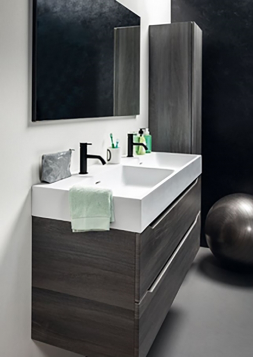 Flow Nero Double Basin Mono